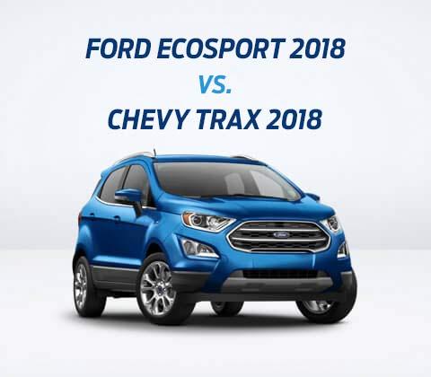 Suv Compactos Herramienta De Comparacin Comparar Ford Ecosport