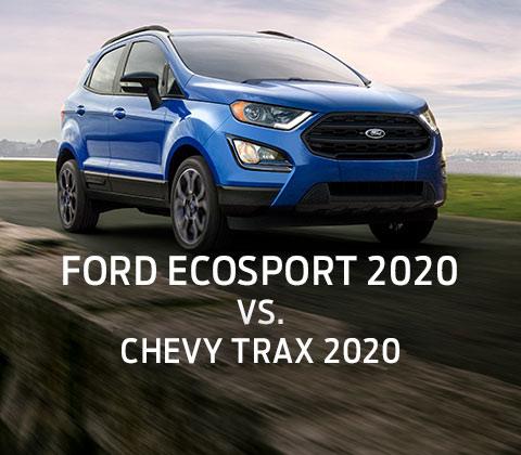 Suv Compactos Herramienta De Comparacion Comparar Ford Ecosport